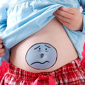 علت های شایع درد در کودکان
